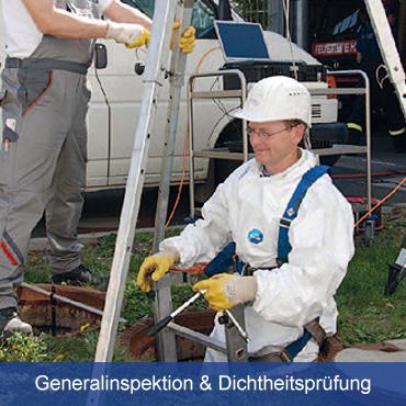 Dichtheitspruefung Generalinspektion